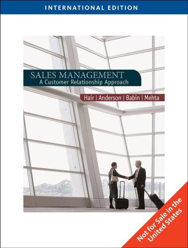 Sales Management -