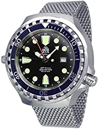 Prof. diver watch - 24h automatic movement Milanaise strap T0268MIL