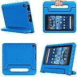 Fintie Fire 7 2015 Funda - Niños Ligero y Super Protective Case Funda Carcasa con Soporte para Amazon Fire (tablet de 7 pulgadas, 5ª generación, modelo de 2015), Azul