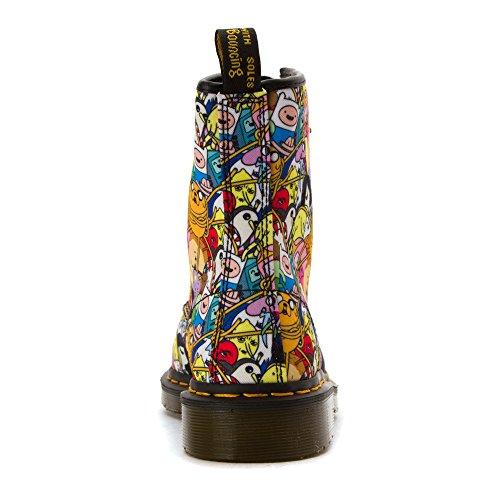 Olhal Toon Têxteis Multicoloridas De martens Dr Castelberry Mulheres 8 Botas Xqt5Axwzw
