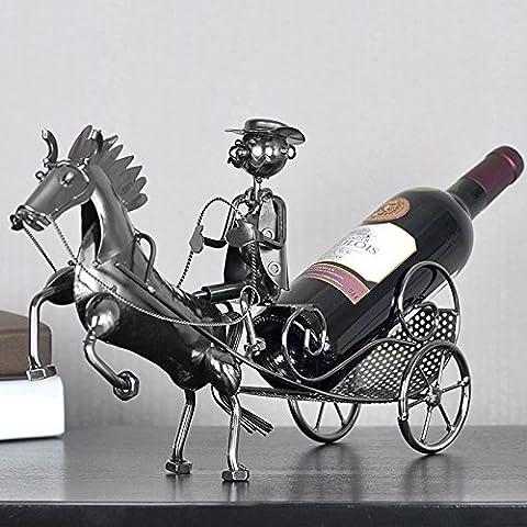 Carrello mensola del vino ornamenti ornamenti casa morbido moderno minimalista armadietto del vino
