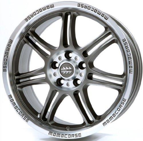 Momo Corse Anthracite Matt 6.5x 15ET355x - 15 6 Schraube Zoll-felge