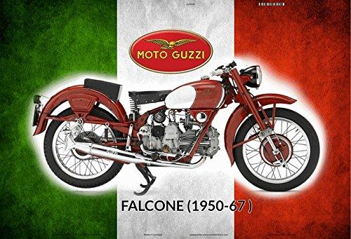 950-1967 italien motorrad, motorcycle, motorbike schild aus blech, metal sign, tin (1950 Deko-ideen)