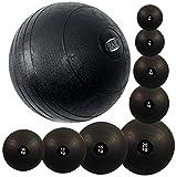 BAY® Slamball Medizinball Medizinbälle Gewichtsball Fitnessball Trainingsball Vollball Krafttraining Slam Ball Gummi Sand Sandfüllung
