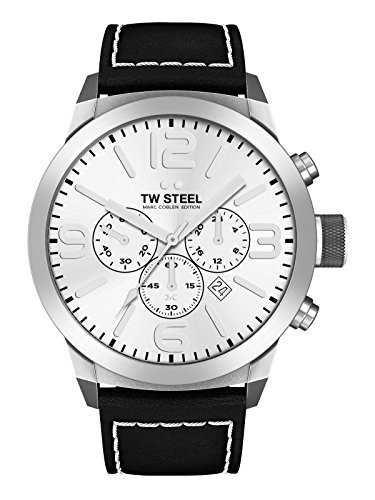 TW Steel Herren Uhr Armbanduhr Marc Coblen Edition TWMC60 Lederband
