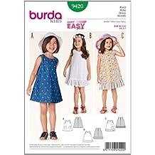 Patrón Burda 9420 Kids Vestido