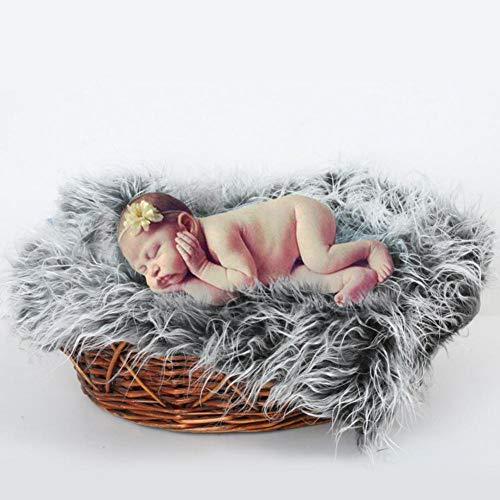 PER Baby flauschige Decken weiche fotografische Matte Neugeborenen Fotografie Wrap Requisiten