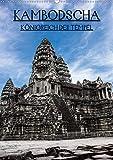 Kambodscha - Königreich der Tempel (Wandkalender 2020 DIN A2 hoch): Wunderschöne Aufnahmen aus den Kambodschanischen Tempelanlagen (Monatskalender, 14 Seiten ) (CALVENDO Orte) -