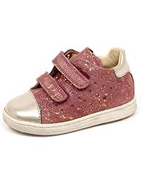 Falcotto E3366 Sneaker Bimba Platino Rosa Scarpe Primi Passi Shoe Baby Girl 3deb1d1bc26