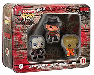 Funko - Pack 3 Figurines Horror Pocket Pop 4cm - 0849803048723