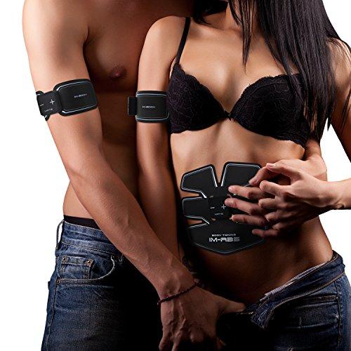 Elettrostimolatore Muscolare Training Intelligente-Elettrostimolatori Muscolare-Training USB Ricaricabile Uomo/Donna (3-controllore)