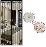 Die besten Homes Vorhänge - LyMei Vorhänge Klettverschluss Magnetic Soft Screen Tür High-Grade-Verschlüsselung Bewertungen