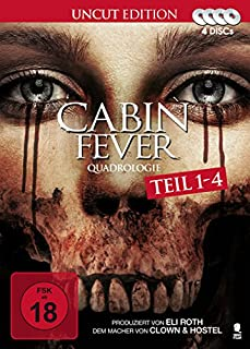 Cabin Fever Quadrologie (4 Disc-Set)