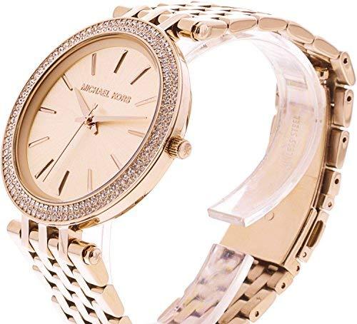 Michael Kors Women's Darci MK3192 Rose-Gold Stainless-Steel Analog Quartz Fashion Watch