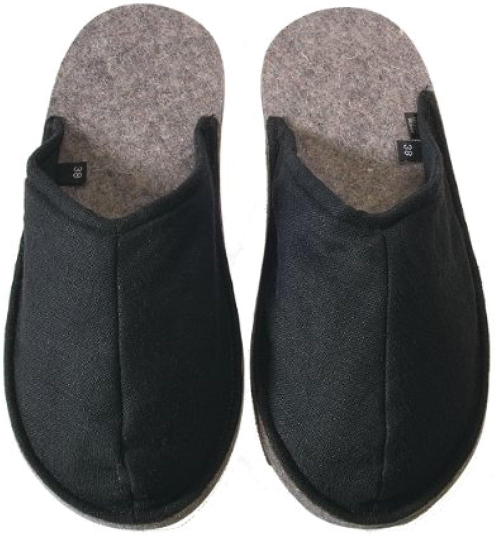 Puschis Pantoffeln schwarz Gr. 36/37  2018 Letztes Modell  Mode Schuhe Billig Online-Verkauf