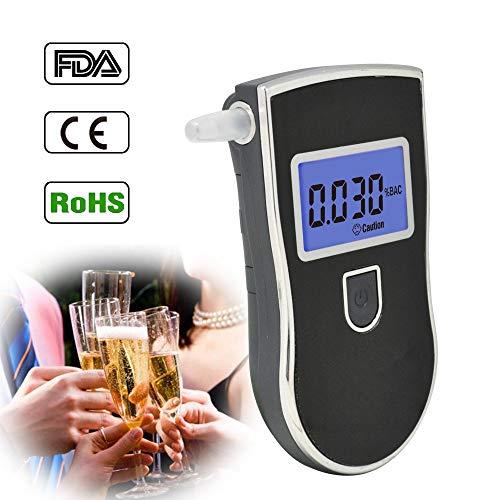 AoforzBrand Neue Heiße verkaufende Professionelle Polizei Digitale Atemalkohol-Tester Alkoholtester AT818 Atembarer Atem Ethanol Test Analyzer
