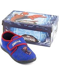 Spiderman Chaussons, pantoufles, bleu