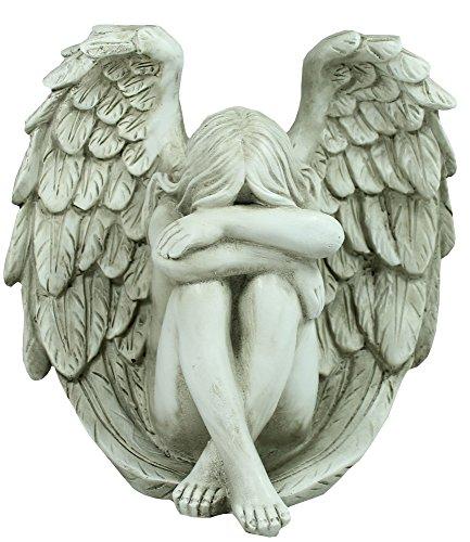 Colourliving® Ange endormi Figurine Ange Fille Protection Ange