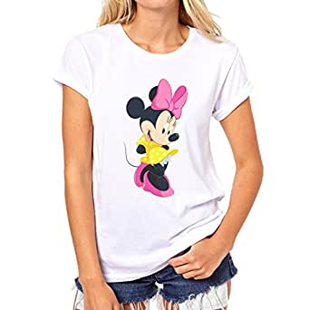 mickey mouse minnie pose in cuteness xxl damen t shirt. Black Bedroom Furniture Sets. Home Design Ideas