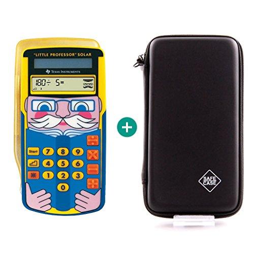 Texas Instruments Little Professor + Schutztasche (Taschenrechner Spielzeug)