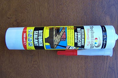 BITUMEN SEALANT FIX FOR ROOF GUTTERS PIPES JOINTS CONCRETE STEEL WOOD CAR WHEEL ARCHES NEW TECHNICQLL by Technicqll ()