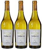 MARCEL CABELIER 676534 France Jura Vin Arbois AOP 2014 75 cl - Lot de 3