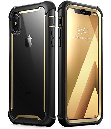 Funda para iPhone X, i-Blason [Ares] Apple iPhone 10 Funda de Parachoques...