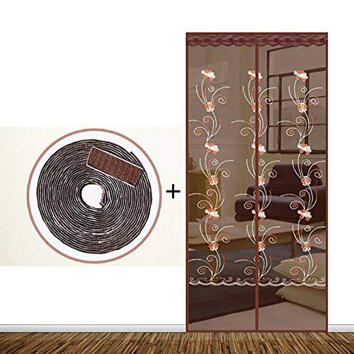 XGXQBS Magnet Fliegengitter T¨¹r, Magnete Schlie?en automatisch Instant Bug Door Mesh Vorhang, No Gap Guard Protective Net -