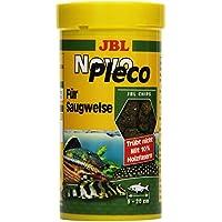 JBL NovoPleco 30311 Alleinfutter für kleine Saugwelse, Tabletten 250 ml