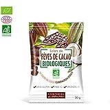 Eclats de feves de cacao au sucre de coco - 30 g