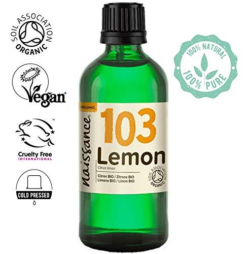 Naissance Olio di Limone Biologico - Olio Essenziale Puro al 100% - 100ml
