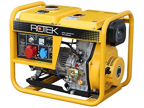 Rotek Diesel Stromerzeuger GD4-3-6000-EBZ