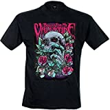 Bullet For My Valentine Men's Skull Red Eyes T-Shirt