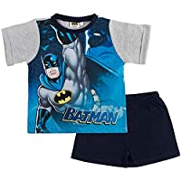 Batman Boys Superhero Short Pyjamas