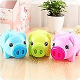 tfxwerws Creative Schweinchen Spardose Münze Aufbewahrung Sparschwein
