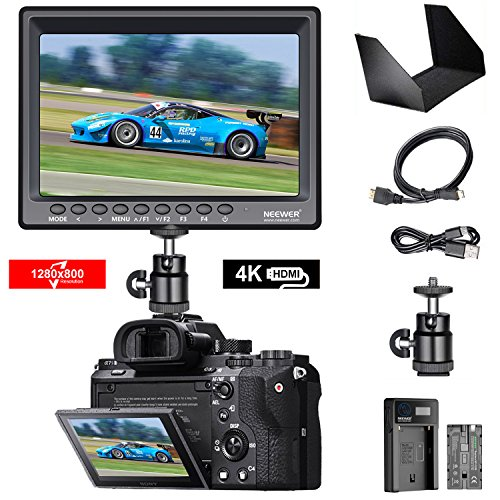 Neewer Kit di Monitor da Campo F100 7