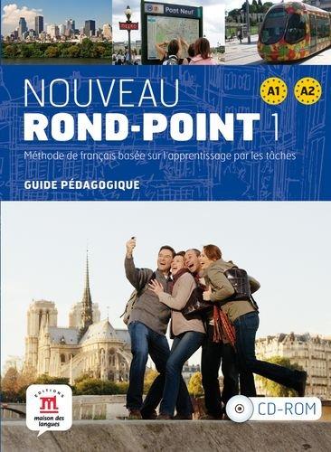 Nouveau rond-point A1-A2 : Méthode de français basée sur l'apprentissage par les tâches (1Cédérom)