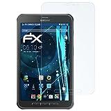 atFolix Panzerfolie für Samsung Galaxy Tab Active 8.0 (SM-T365) Folie - 2 x FX-Shock-Clear stoßabsorbierende ultraklare Displayschutzfolie