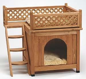 Van Riel - Maisonnette en bois Odi pour chats et petits chiens