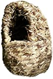 Birdhouse World Wildlife ovale tasca Fornito con filo di fissaggio