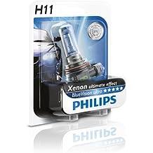 Philips 12362BVUB1 BlueVision Ultra - Bombilla H11 para faros delanteros (1 unidad)