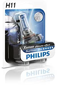 Philips 12362BVUB1 Ampoule de phare Blue Vision Ultra H11