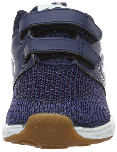 Kangaroos  Ron I V, chaussons d'intérieur mixte enfant Blau (dk navy/white)