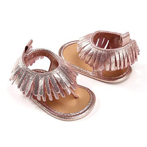 Ginli scarpe bambino,scarpe primi passi scarpine neonato sandali bambino sandali nappe bambino scarpe casual scarpe sneaker antiscivolo morbida suola per bambini