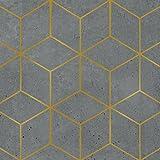 PPD ZicZac Servietten, 20 Stück, Tischservietten, Tissue, Cement, 33 cm, 1332461
