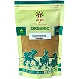 Arya Farm Certified Organic Jeera (Cumin) Powder, 200 g