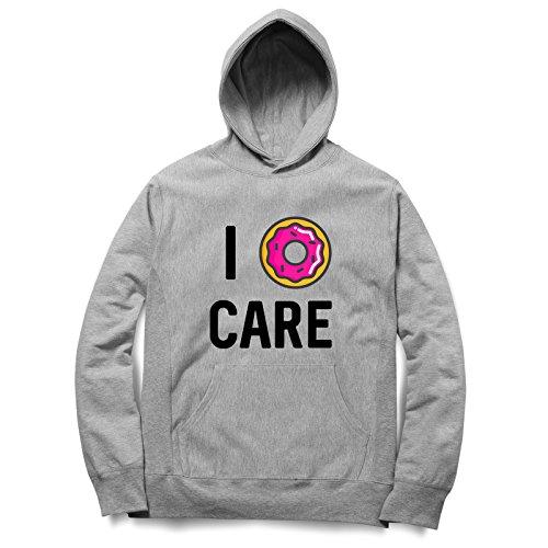 I Donut Care Cute And Funny Felpa Con Cappuccino / Hoodie Unisex Spedizione Veloce / S M L XL XXL dimensioni