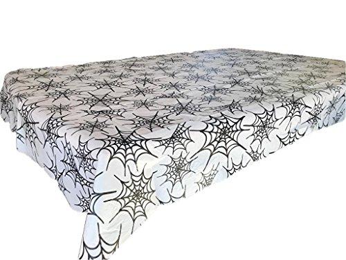 Halloween Spiderweb Flanell Rückseite Küche Tisch Cover