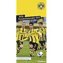 BVB Kalender 2018 - Borussia Dortmund Fankalender, teNeues Fußballkalender, BVB Familienplaner  -  23 x 45,5 cm