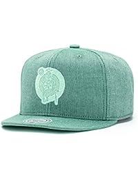 Casquette Snapback Italian Washed Boston Celtics olive MITCHELL & NESS